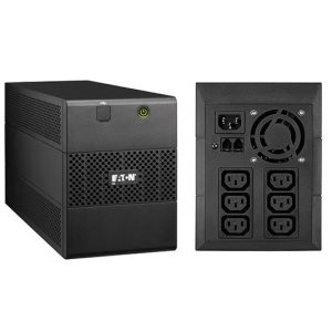 Eaton 5E USB 1500VA LineInteractive UPS with 2 AC outlets