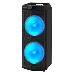 "Amplify Colossus Series Dual 12"" Portable Bluetooth Speaker"