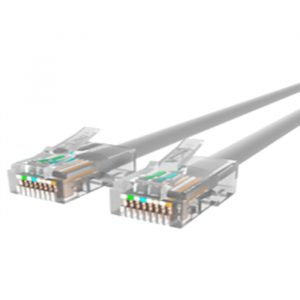 Cat 5e Terminated RJ45 Ivory Shielded - 1m