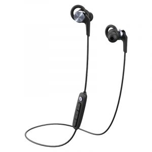 1MORE Fitness E1018PLUS Vi React Sport IPX6 BT In-Ear Headphones - Space Grey