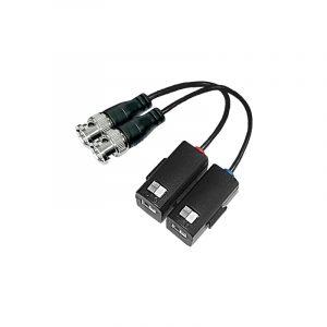 Folksafe 1 CH HD-CVI|TVI|AHD Passive Balun Zinc BNC Connecto