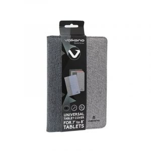"Volkano VB-VR314/GRBK Shield Series 7""- 8"" Tablet Cover - Grey & Black"