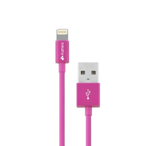 Kanex Lightning 1.2m Cable Pink