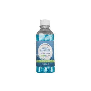 Liquid Clinic 330 ml Hand Sanitizer Liquid (70% Alcohol)