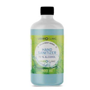Liquid Clinic 500 ml Hand Sanitizer Liquid (70% Alcohol)