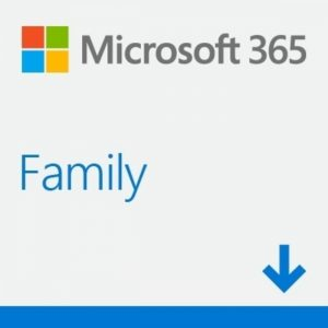 Microsoft 365 Family (Medialess - 1 Year Subscription)