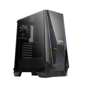 Antec NX310 ARGB LED Tempered Glass Side (GPU 320mm) ATX Micro ATX ITX Gaming Chassis - Black