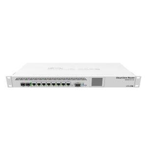 MikroTik Cloud Core 8 Port Gigabit 1SFP 1SFP+ 9 Core Router   CCR1009-7G-1C-1S+