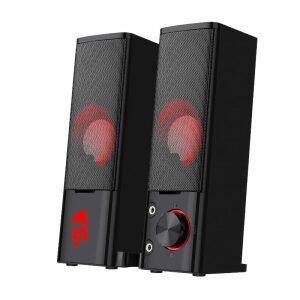 Redragon 2.0 Sound Bar 2x3W 3.5mm - Black