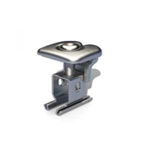 RS1 Universal End and Mid Clamp 30 - 50mm Silver ONE FOR ALL