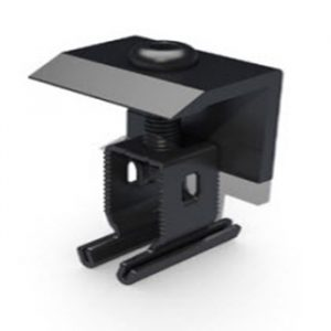 End Clamp+ 30 - 50mm Black