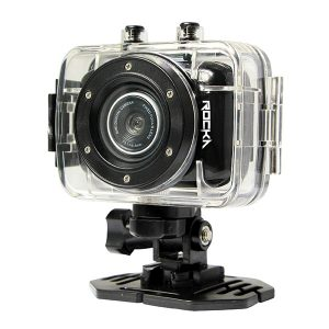 Rocka Edge Series HD Action Camera - Silver