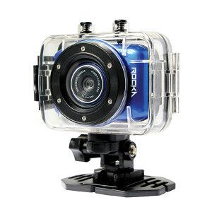 Rocka D'Light Series 720P Action Camera- Blue