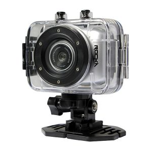 Rocka D'Light Series 720P Action Camera- Silver