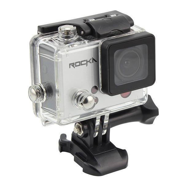 Rocka Vogue Series 4K Action Camera- Silver