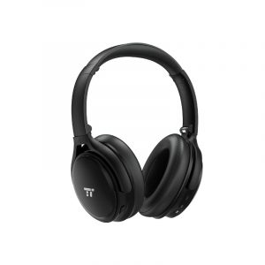 Taotronics Active Noise Cancelling Wireless Bluetooth 4.2 Up to 30 Hours Battery Headphones - Black