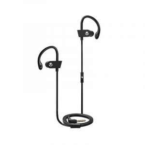 Volkano VEH-001-BK Circuit Series Sports Earphones with Mic