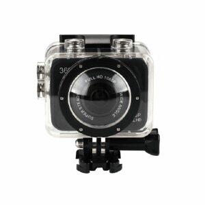 Volkano VK-10002-BK Orbis 360° Action Camera