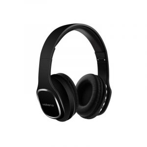Volkano VK-2002-BK Phonic Series Black Bluetooth Full Size Headphones