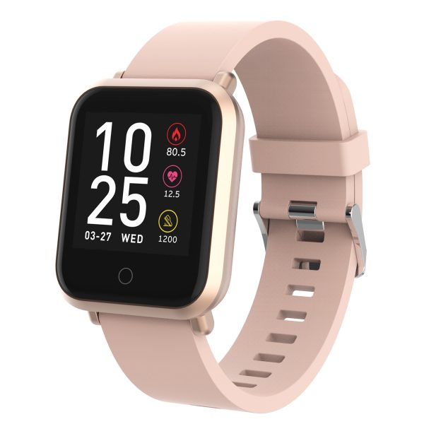 Volkano Active Tech Serene series Watch with heart rate monitor - Gold