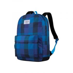Volkano Diva Series Backpack - Checkered Blue