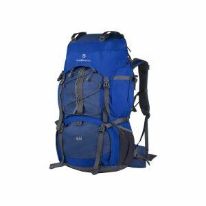 Volkano Icepick Series Hiking Backpack - 65L - Blue