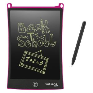 "Volkano Kids Doodle Series 8.5"" Writing and Drawing Board - Pink"