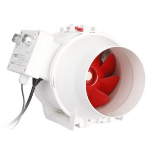 Vtronic 150mm/6 Temperature control AC Inline Duct Fan