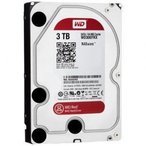 WD Red 3TB 3.5 SATA 64MB