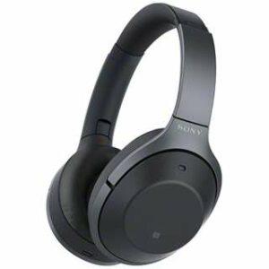 Sony WI-1000X (Black) Wireless Noise-Canceling Headphones
