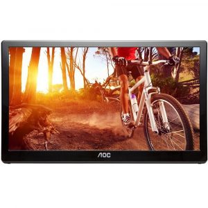 "AOC E1659FWU 15.6"" HD USB 3.0 Portable Monitor"